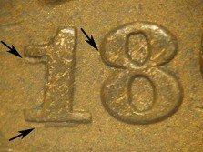 1865 Fancy 5 RPD-003 - Indian Head Penny - Photo by David Poliquin