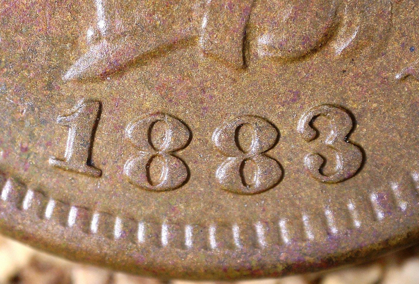 1883 ODD-002 - Indian Head Penny - Photo by David Killough
