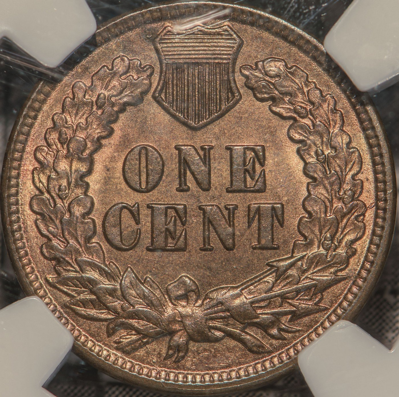 1888 Reverse of RPD-009 Indian Head Penny - Photo by Kurt Story