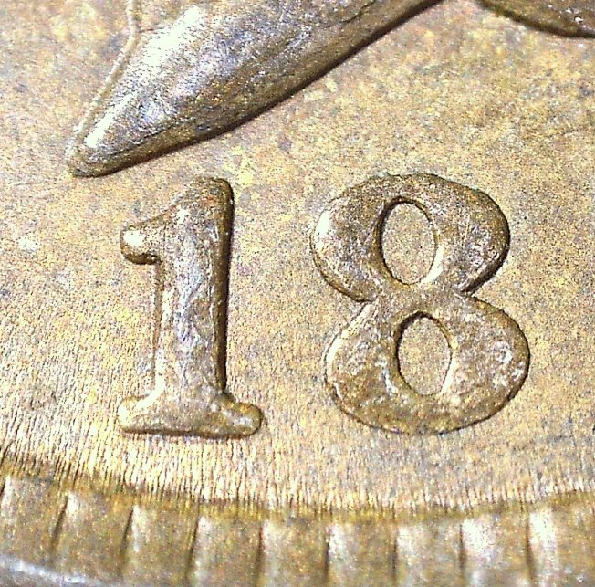 1896 RPD-011 - Indian Head Penny - Photo by David Killough