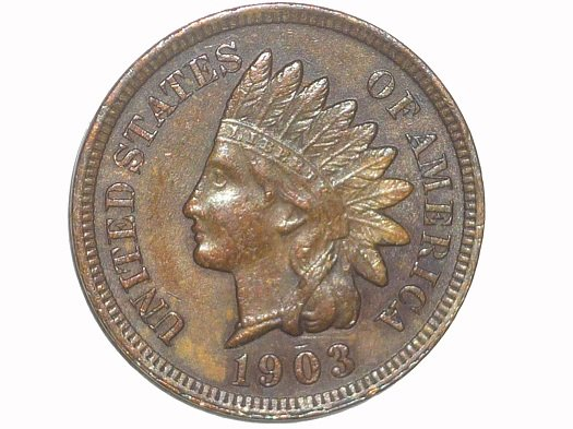 1903 MPD-003 - Indian Head Penny - Photo by David Poliquin