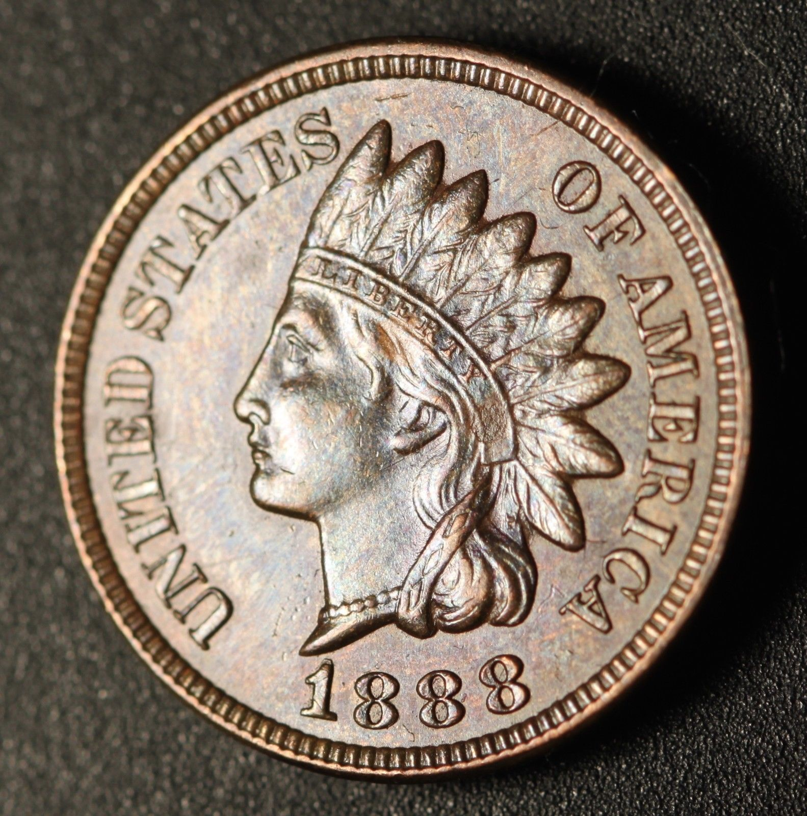 1888 RPD-014 - Indian Head Penny - Photo by Ed Nathanson