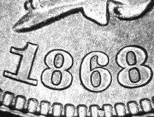 1868 MPD-002 Indian Head Penny