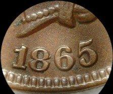 1865 Plain RPD-006 - Indian Head Penny