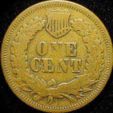 1868 ODD-001 - Indian Head Penny