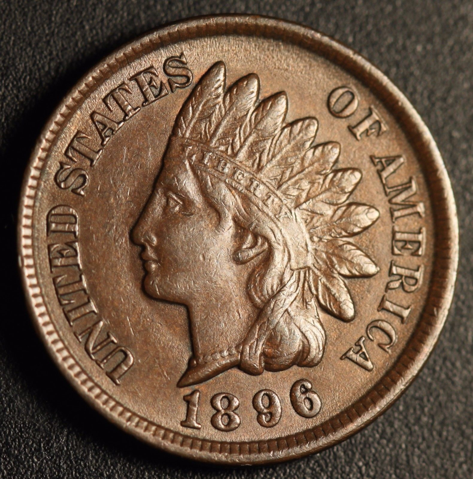 1896 RPD-011 - Indian Head Penny - Photo by Ed Nathanson