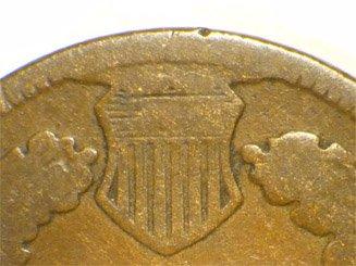 1868 CUD-002 - Indian Head Penny - Photo by David Poliquin