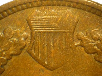 1865 ODD-003 - Indian Head Penny - Photo by David Poliquin
