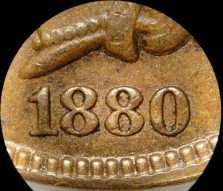 1880 PUN-009 - Indian Head Penny