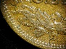 1868 CUD-004 - Indian Head Penny