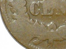 1867 CUD-004 Indian Head Cent - Courtesy of David Poliquin
